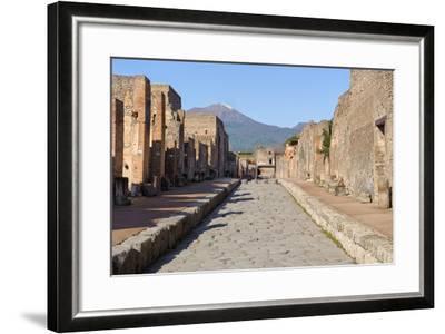 Street of Pompeii-JIPEN-Framed Photographic Print