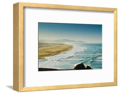 Windy Ocean-msv-Framed Photographic Print
