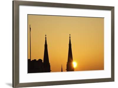 St Mary's Catholic Church-benkrut-Framed Photographic Print