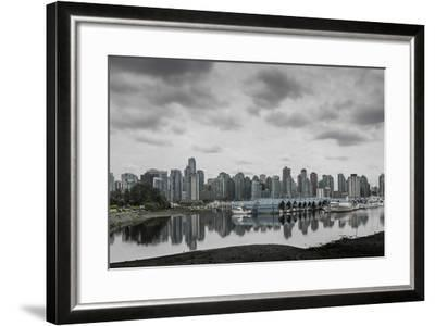 Teary Skies over Vancouver-Latitude 59 LLP-Framed Photographic Print