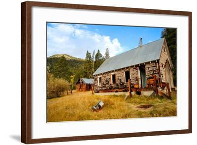Old Abandoned House-bendicks-Framed Photographic Print