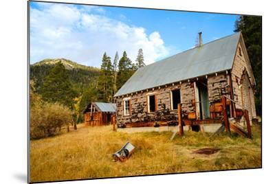 Old Abandoned House-bendicks-Mounted Photographic Print