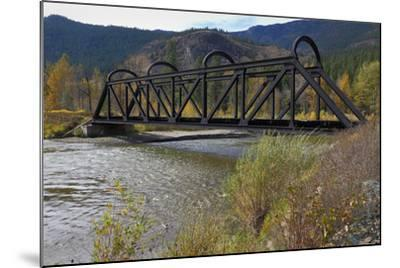 Kettle Valley Rail Bridge over the Nicola River-digimax-Mounted Photographic Print