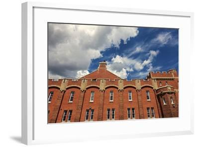 Mewata Armouries in Downtown of Calgary-benkrut-Framed Photographic Print
