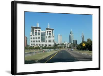 Downtown Mobile Alabama-Ruth O'Connor-Framed Photographic Print