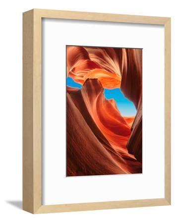 Lower Antelope Canyon, Arizona-lucky-photographer-Framed Photographic Print