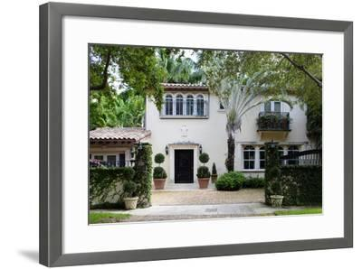 South Florida Home Exterior-felix mizioznikov-Framed Photographic Print