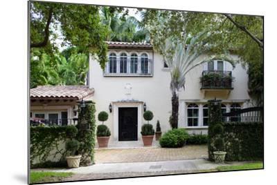 South Florida Home Exterior-felix mizioznikov-Mounted Photographic Print