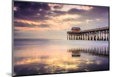 Cocoa Beach, Florida, USA at the Pier.-SeanPavonePhoto-Mounted Photographic Print