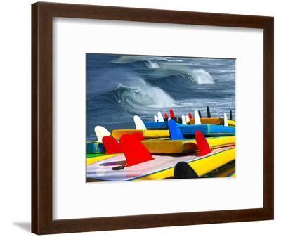 Surf-luiz rocha-Framed Photographic Print