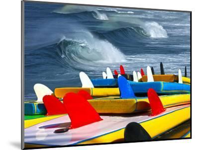 Surf-luiz rocha-Mounted Photographic Print