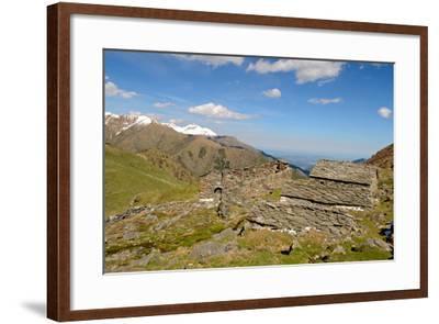 Shepherd's Abandoned Huts-Fabio Lamanna-Framed Photographic Print