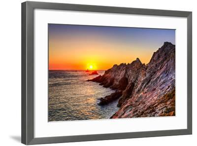 Sunset at the End of the World-RazvanPhotography-Framed Photographic Print
