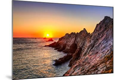 Sunset at the End of the World-RazvanPhotography-Mounted Photographic Print