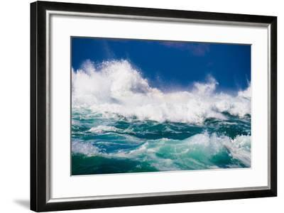 Powerful Ocean Wave-michaeljung-Framed Photographic Print