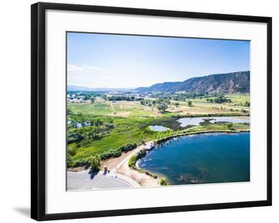 Colorado River-urbanlight-Framed Photographic Print