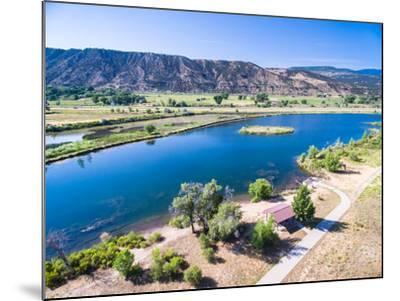 Colorado River-urbanlight-Mounted Photographic Print