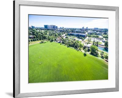 Urban Park-urbanlight-Framed Photographic Print