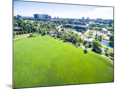 Urban Park-urbanlight-Mounted Photographic Print