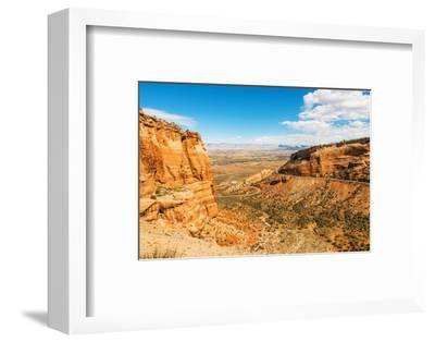 West Colorado Landscape-duallogic-Framed Photographic Print