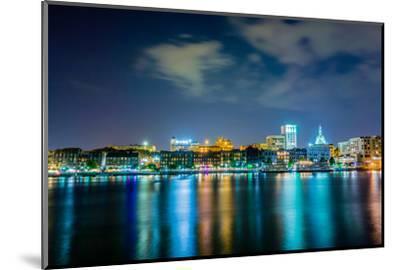 Savannah Georgia Waterfront and Street Scenes-digidreamgrafix-Mounted Photographic Print