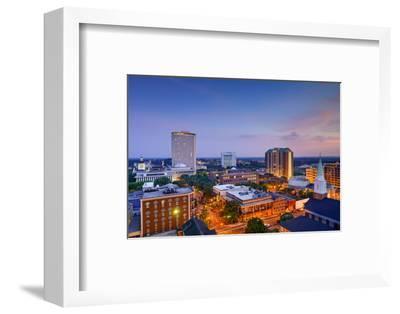 Tallahassee, Florida, USA Downtown Skyline.-SeanPavonePhoto-Framed Photographic Print