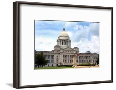 Arkansas Capital Building-Steven Frame-Framed Photographic Print