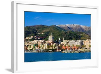 Genoa from the Sea-RnDmS-Framed Photographic Print