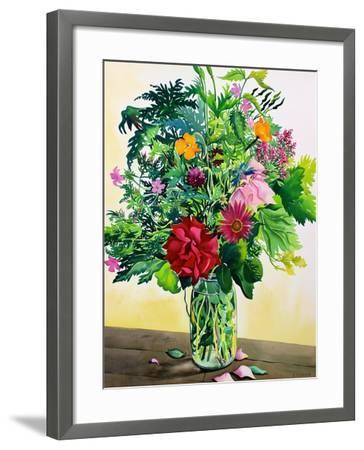 Garden Flowers-Christopher Ryland-Framed Giclee Print