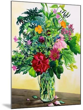 Garden Flowers-Christopher Ryland-Mounted Giclee Print
