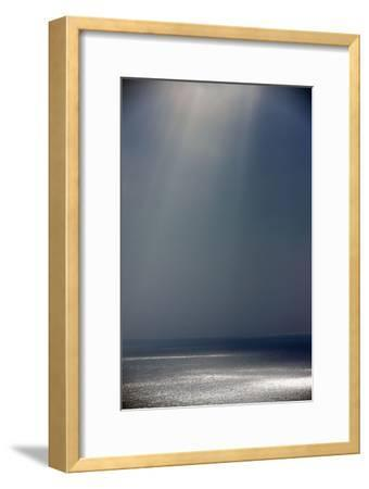 Light and Shade on the Atlantic Ocean in Winter--Framed Photographic Print
