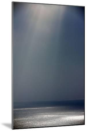 Light and Shade on the Atlantic Ocean in Winter--Mounted Photographic Print
