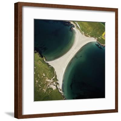 Scotland St Ninian's Tombolo-Adrian Warren-Framed Photographic Print
