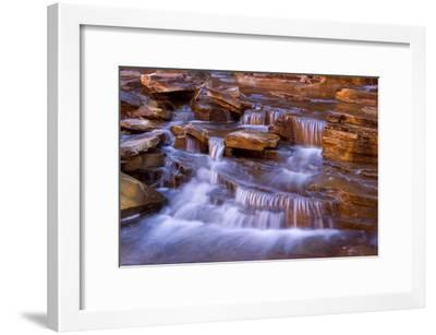 Cascades in Kalamina Gorge Picturesque Cascades--Framed Photographic Print