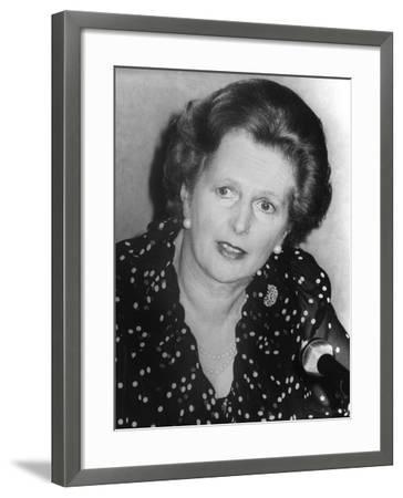 Margaret Thatcher--Framed Photographic Print