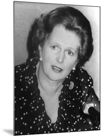 Margaret Thatcher--Mounted Photographic Print