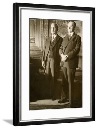 Calvin Coolidge--Framed Photographic Print