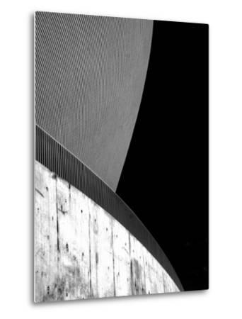 Contrasting Curves-Adrian Campfield-Metal Print