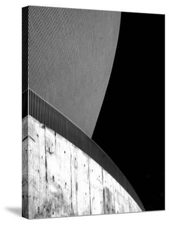 Contrasting Curves-Adrian Campfield-Stretched Canvas Print