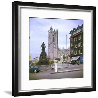 Manchester Cathedral--Framed Photographic Print