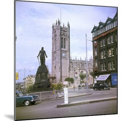 Manchester Cathedral--Mounted Photographic Print