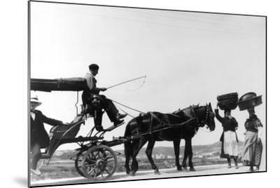 Spanish Women--Mounted Photographic Print