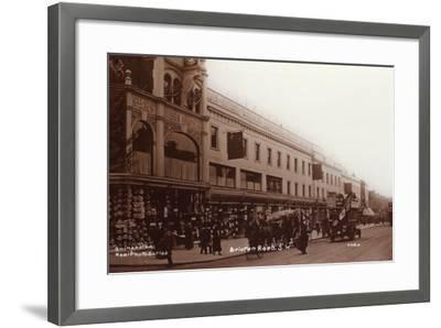 Brixton Road--Framed Photographic Print