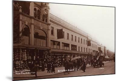 Brixton Road--Mounted Photographic Print