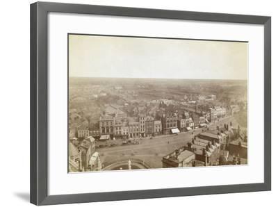 Boston Birds Eye--Framed Photographic Print