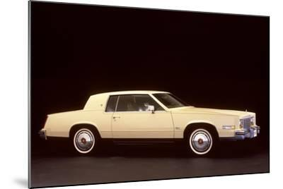 White Cadillac--Mounted Photographic Print