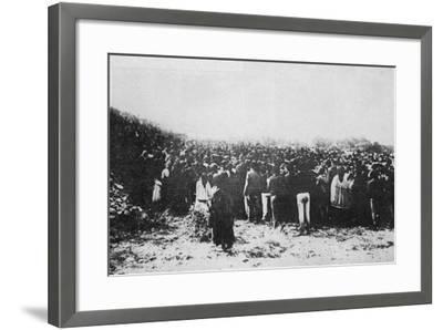 Fatima Crowd--Framed Photographic Print