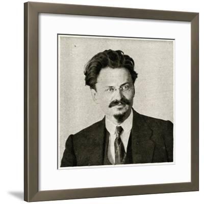 Leon Trotsky--Framed Photographic Print
