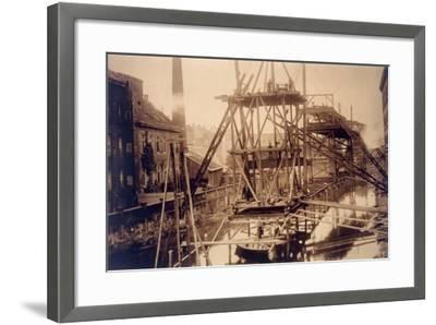 Rail, Germany, Wuppertal--Framed Photographic Print