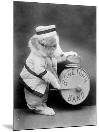 Bone Town Band--Mounted Photographic Print